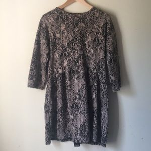 Zara snake skin print  dress. Size small